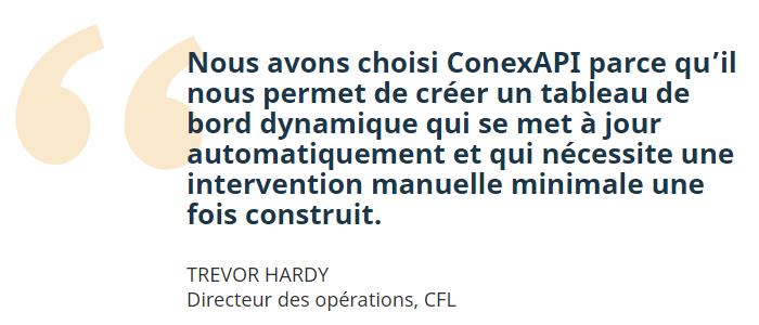 CFL & ConexAPI (FR)