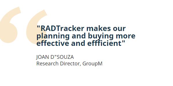 RADTracker GroupM