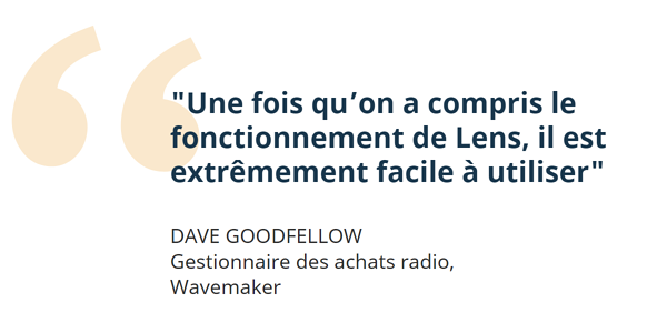Wavemaker et Lens pour la radio